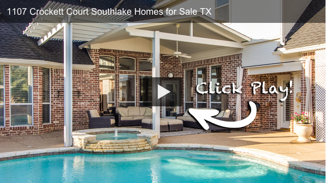 1107 Crockett Court Southlake Texas HD Video Walk-Through Tour