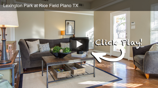 Lexington Park at Rice Field in Plano Texas HD Video Walk-Through Tour